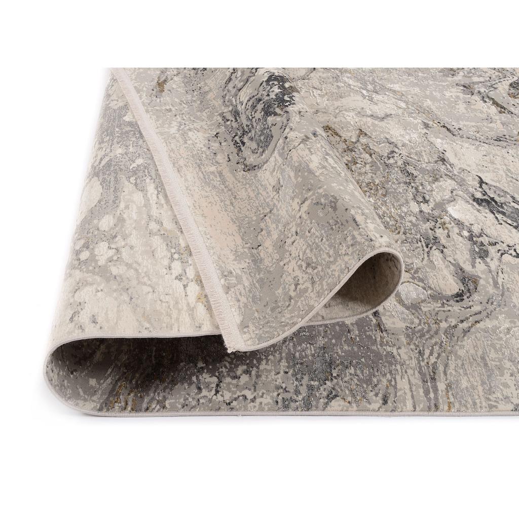 OCI DIE TEPPICHMARKE Teppich »You«, rechteckig, 8 mm Höhe, Glanz Viskose, mit Fransen, Wohnzimmer