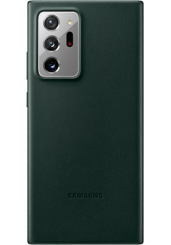 Samsung Smartphone-Hülle »Leather Cover EF-VN985 für Note 20 Ultra«, Galaxy Note20 Ultra kaufen
