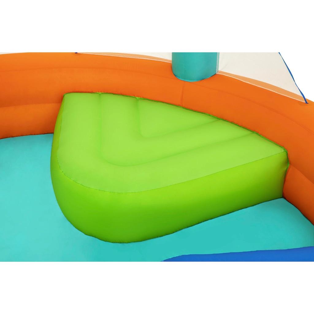 Bestway Planschbecken »Dodge & Drench«, BxLxH: 450x450x268 cm, mit Dauergebläse