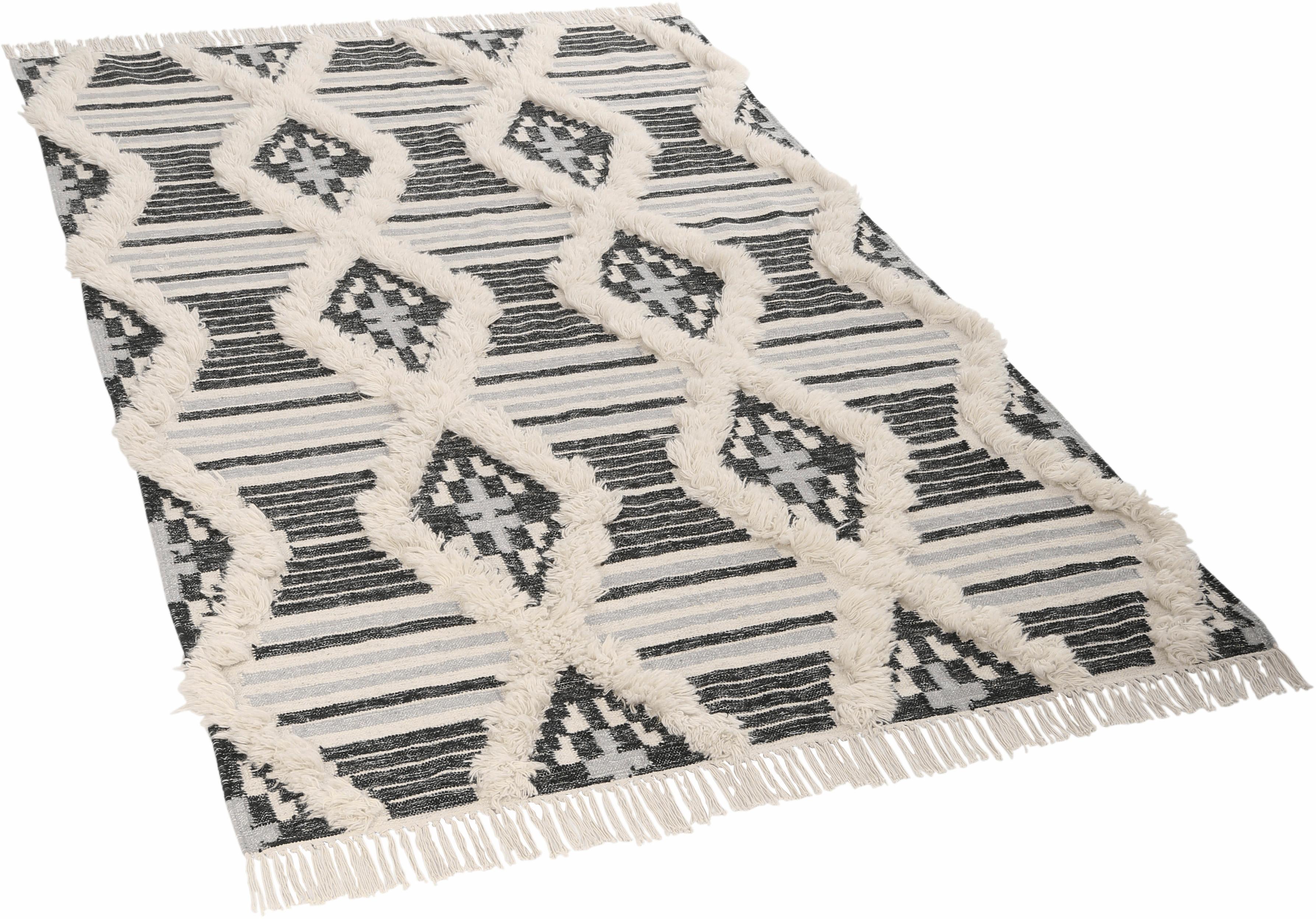 Orientteppich Cozy Kelim TOM TAILOR rechteckig Höhe 5 mm handgewebt