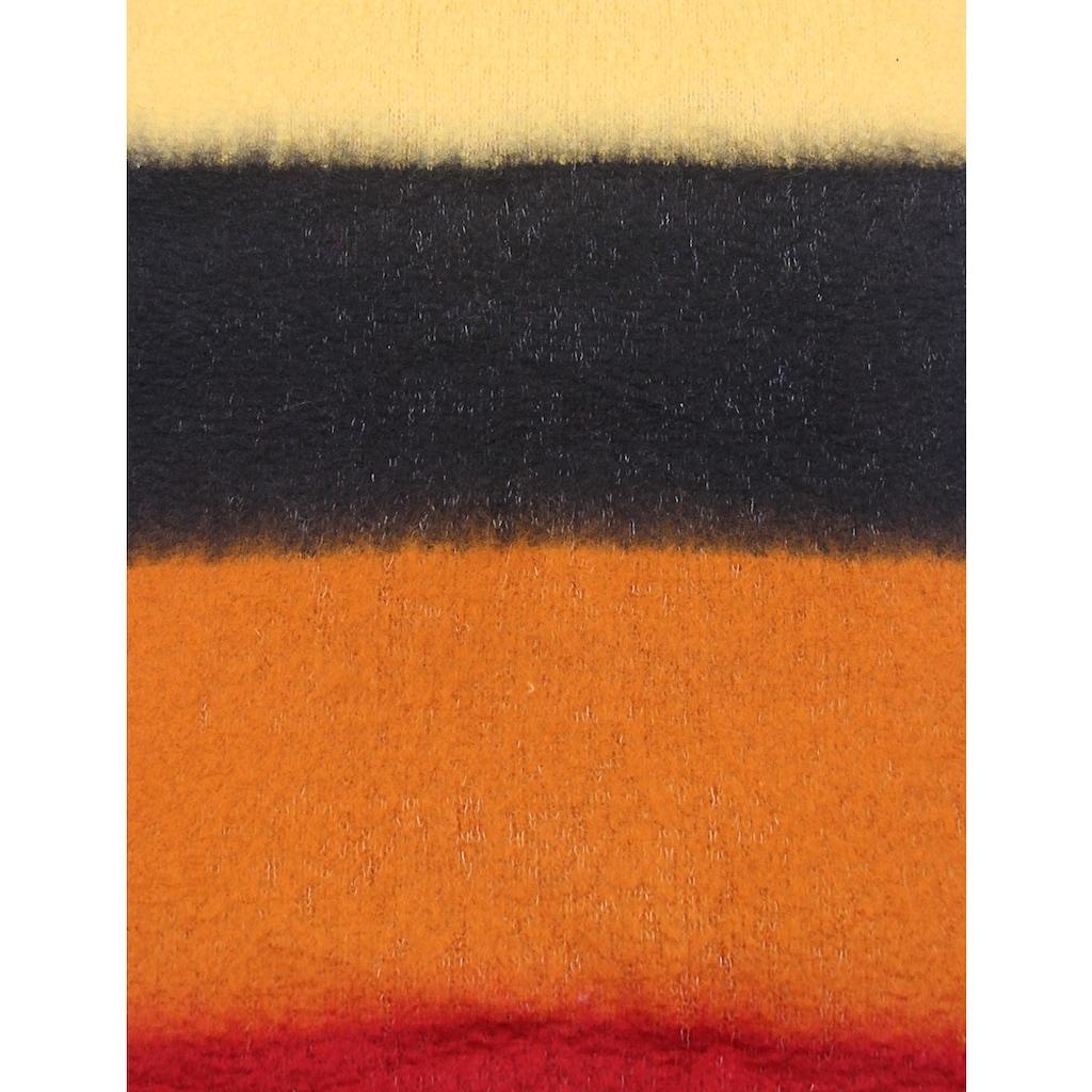 leslii Schal mit farbigem Streifenmuster