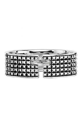 CAÏ Silberring »925/- Sterling Silber rhodiniert Kreuz«, mit Geschenketui kaufen