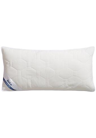 Beco Kunstfaserkopfkissen »Medibett«, Bezug: 100% Baumwolle, (1 St.) kaufen