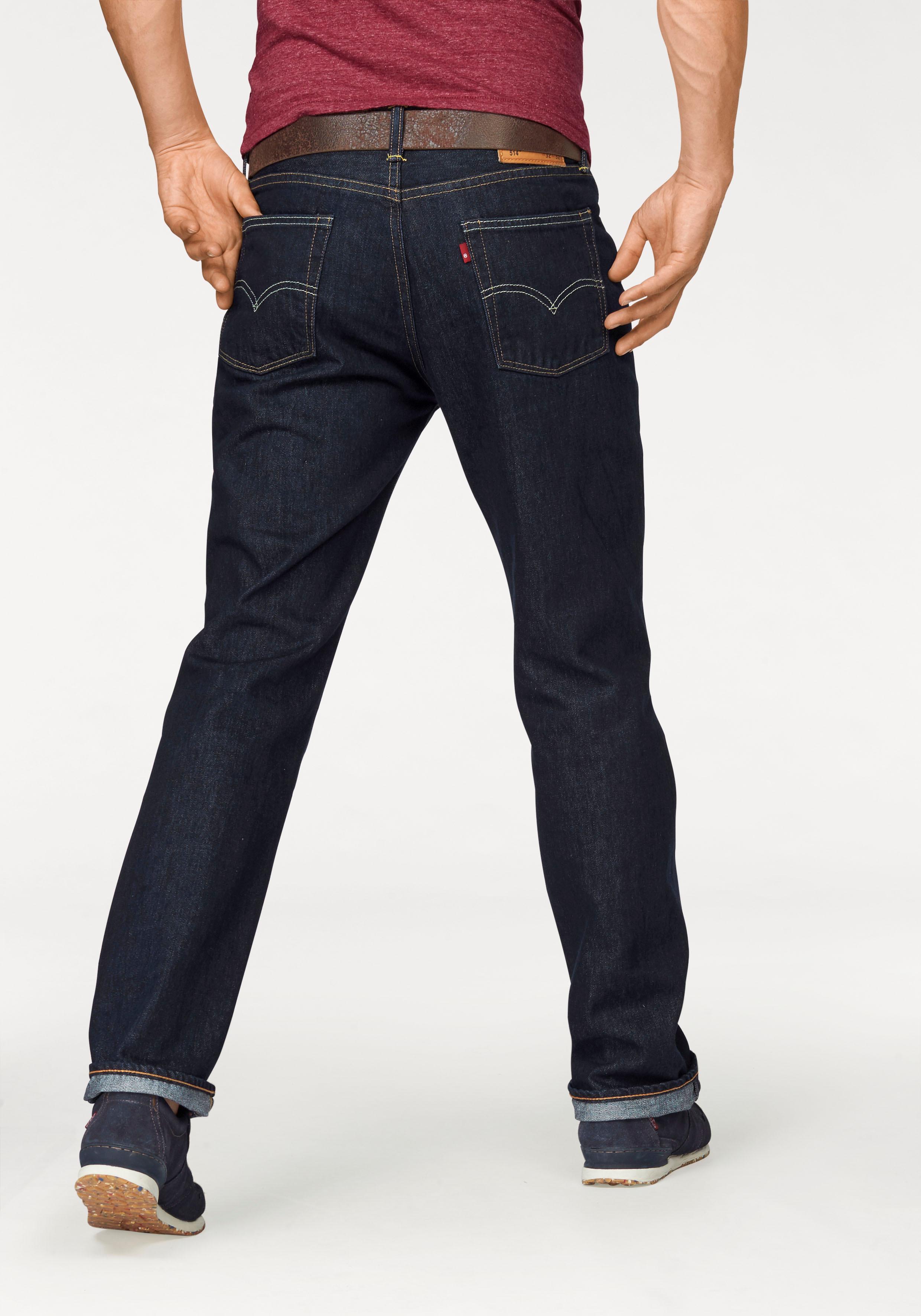 Levi´s® Straight-Jeans »514?« | Bekleidung > Jeans > Straight Leg Jeans | Blau | LEVI´S®