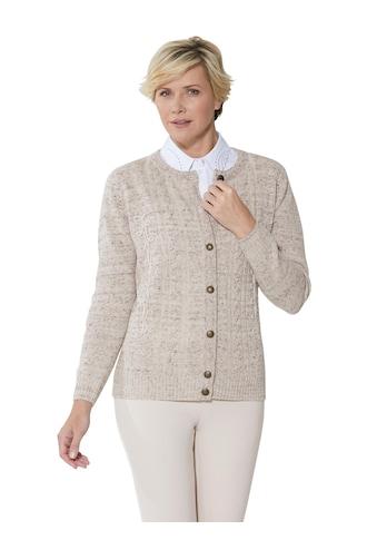 Classic Strickjacke im hochwertigen Mix mit Merino - Wolle kaufen