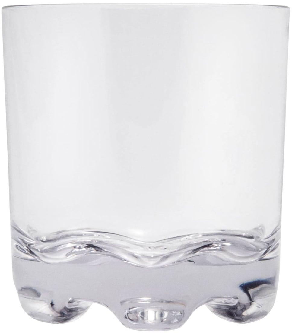 Q Squared NYC Whiskyglas, (Set, 3 tlg., x Gläser), 300 ml, 3-teilig farblos Whiskygläser Gläser Glaswaren Haushaltswaren Whiskyglas