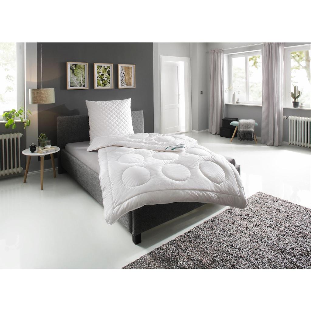 Kunstfaserkopfkissen, »KS Baumwolle«, f.a.n. Frankenstolz, Füllung: 100% Polyester, Bezug: 100% Baumwolle
