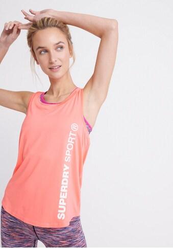 Superdry Sport Trainingsshirt »TRAINING ESSENTIAL VEST« kaufen