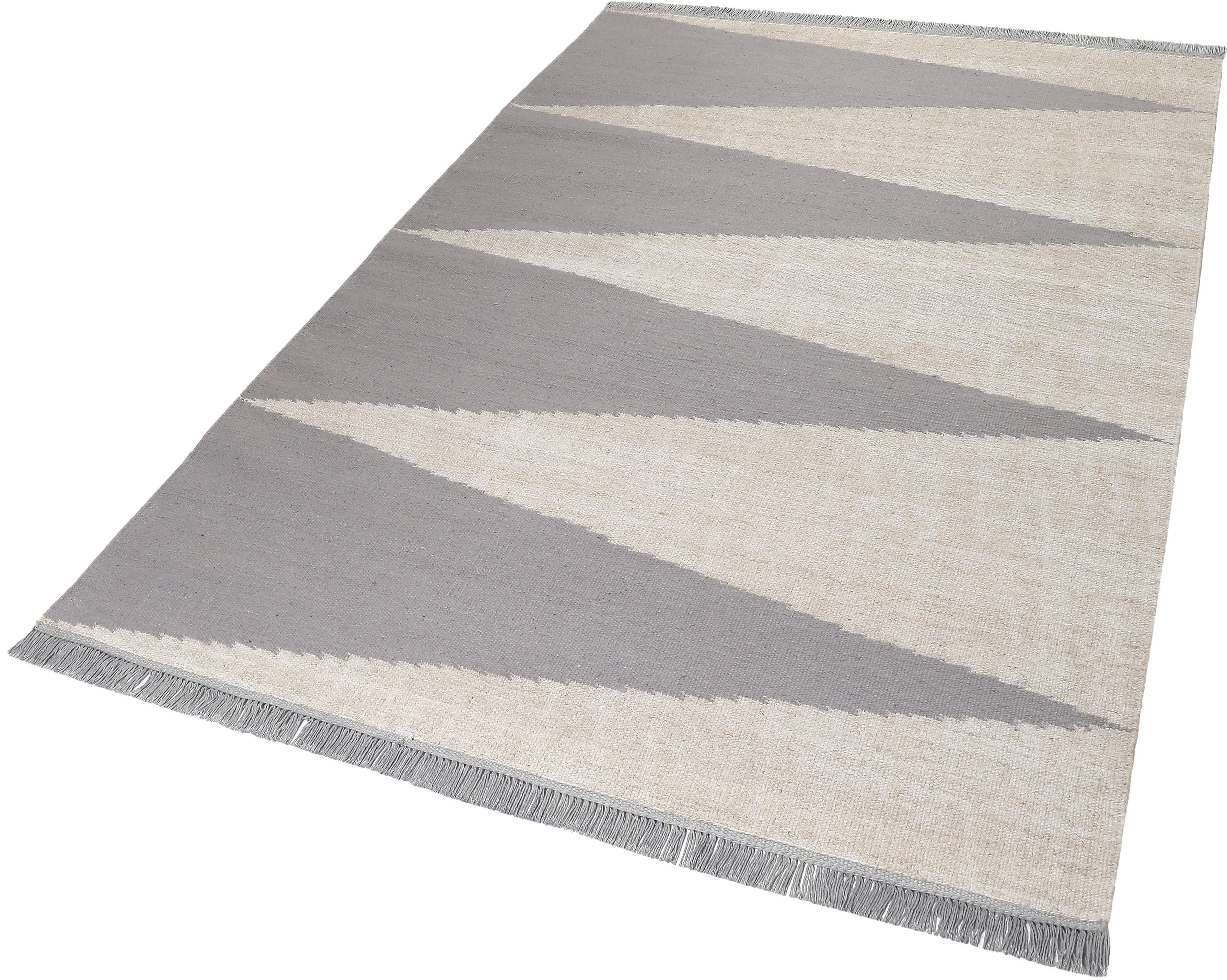Teppich Smart Triangle carpets&co rechteckig Höhe 5 mm handgewebt