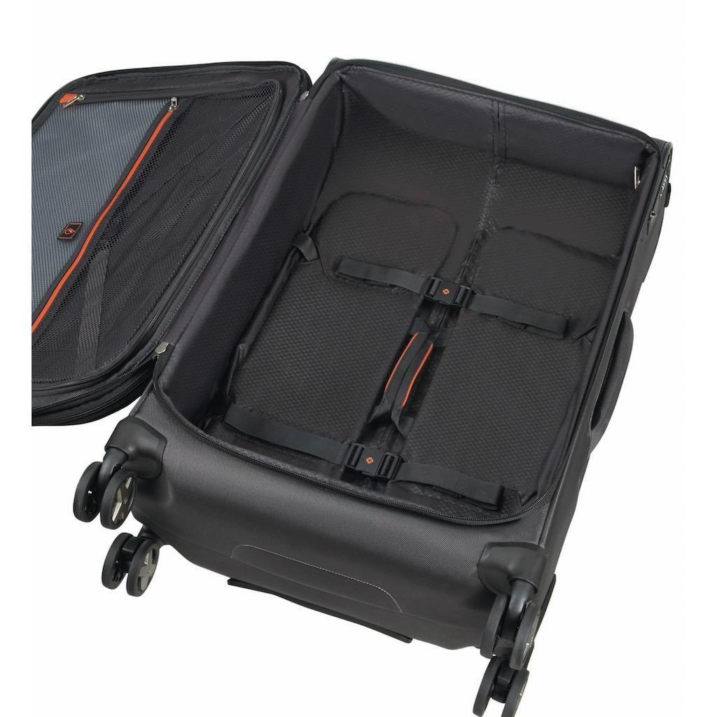 Samsonite Weichgepäck-Trolley »X'Blade 4.0, 55 cm, black«, 2 Rollen, erweiterbar