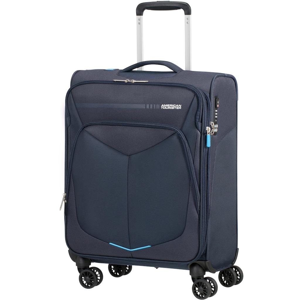 American Tourister® Weichgepäck-Trolley »Summerfunk, 55 cm, navy«, 4 Rollen