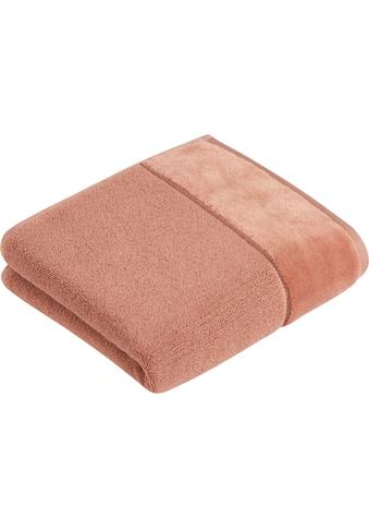 Vossen Handtücher »Pure«, (2 St.), BIO Baumwolle & Vegan kaufen