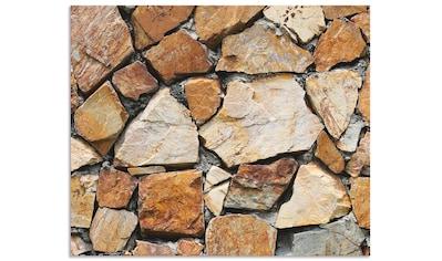 Artland Küchenrückwand »Braune Steinwand« kaufen