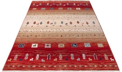 Home affaire Teppich »Mavie«, rechteckig, 10 mm Höhe, Berber-Optik, Wohnzimmer kaufen