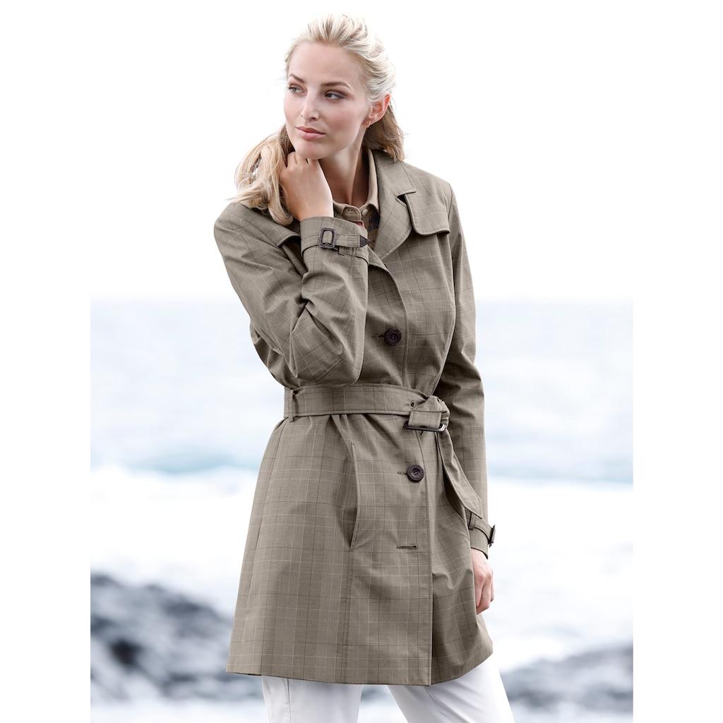 Mona Trenchcoat aus reiner Baumwolle