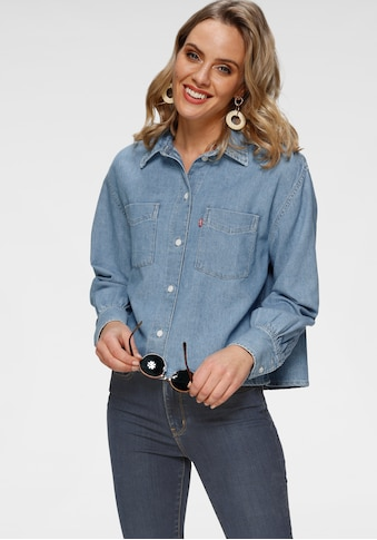 Levi's® Hemdbluse »Zoey Pleat Utility«, mit großen Brusttaschen kaufen