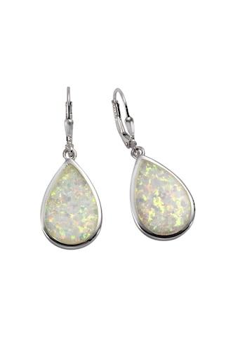 Vivance Ohrhänger »925/ -  Sterling Silber synth. Opal« kaufen