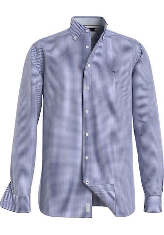 TOMMY HILFIGER Langarmhemd »SLIM NATURAL SOFT GINGHAM SHIRT« kaufen