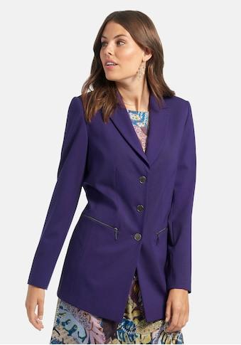 Emilia Lay Sweatblazer »Jersey-Blazer«, mit Zippertaschen kaufen