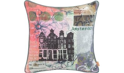 H.O.C.K. Dekokissen »Lieblingsstädte AMSTERDAM«, mit Amsterdam-Motiv kaufen