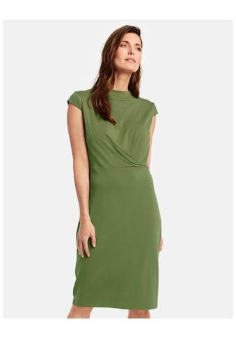GERRY WEBER Kleid Gewirke »Jerseykleid mit Drapée« kaufen