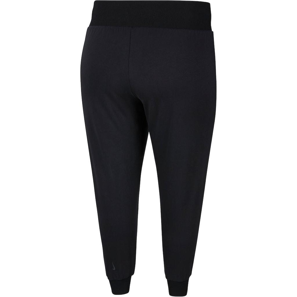 Nike Yogahose »Flow Women's Yoga Training Pants (Plus Size)«