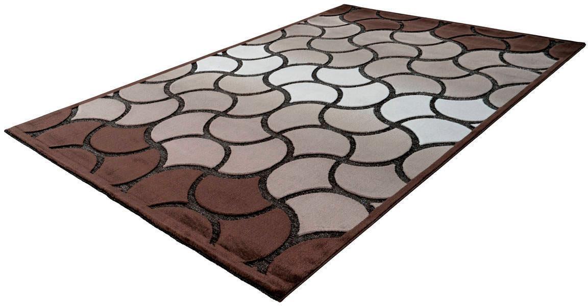 Teppich Jemila 545 LALEE rechteckig Höhe 10 mm maschinell gewebt