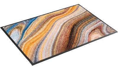 wash+dry by Kleen-Tex Fußmatte »Granito«, rechteckig, 7 mm Höhe, Schmutzfangmatte,... kaufen