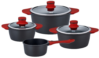 Elo Topf-Set »Lava«, Aluminiumguss, (Set, 7 tlg.), Induktion kaufen