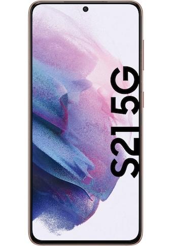 """Samsung Smartphone »Galaxy S21 5G«, (15,84 cm/6,2 """" 256 GB Speicherplatz, 12 MP Kamera), 3 Jahre Garantie kaufen"""