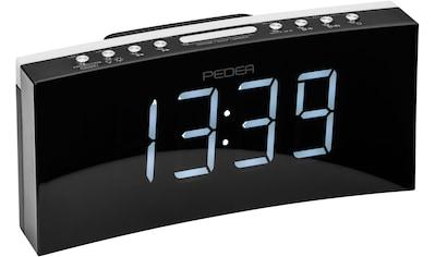 PEDEA Radio »FM Radiowecker mit Projektion« kaufen