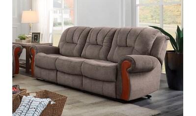 DELAVITA 3-Sitzer »Marven«, mit Relaxfunktion und Federkern-Polsterung kaufen