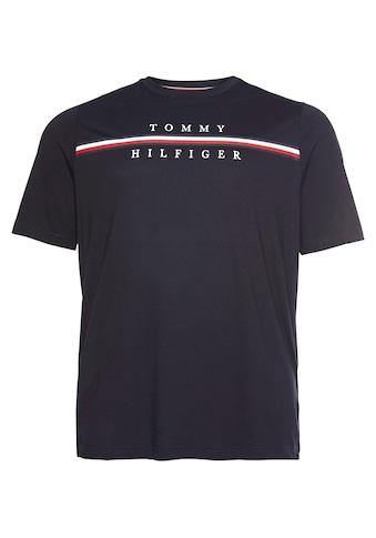 Tommy Hilfiger Big & Tall T - Shirt »BT - CORP SPLIT TEE« kaufen