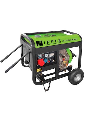 ZIPPER Stromerzeuger »ZI-STE6700DH« kaufen