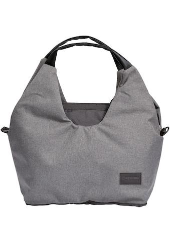 Gesslein Wickeltasche »N°5, grau meliert/schwarz«, mit Wickelauflage und... kaufen