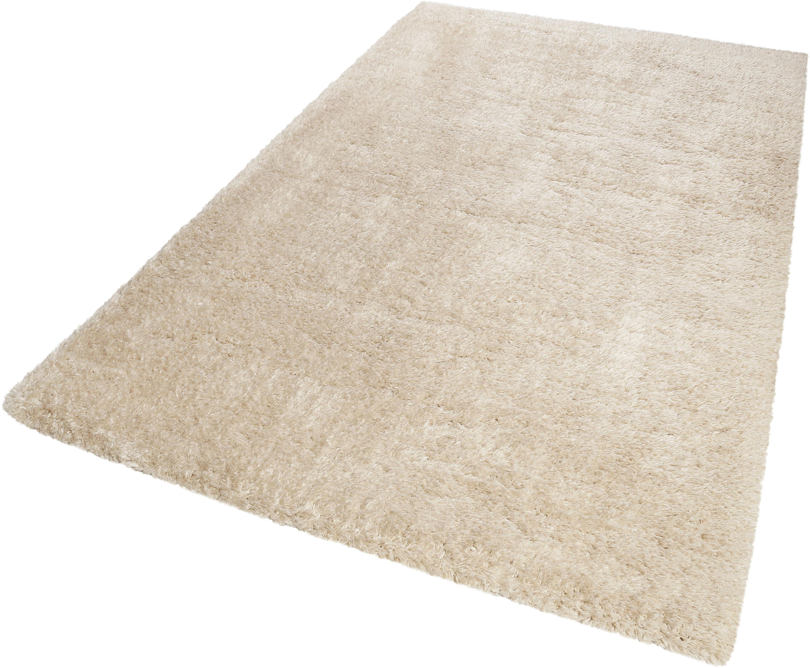 Hochflor-Teppich Toubkal Wecon Home rechteckig Höhe 50 mm maschinell gewebt