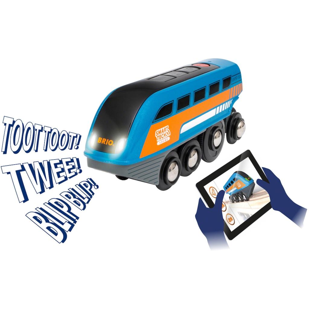BRIO® Spielzeug-Eisenbahn »Smart Tech Sound Deluxe Set«, mit Soundeffekten, app-fähig; FSC® - schützt Wald - weltweit