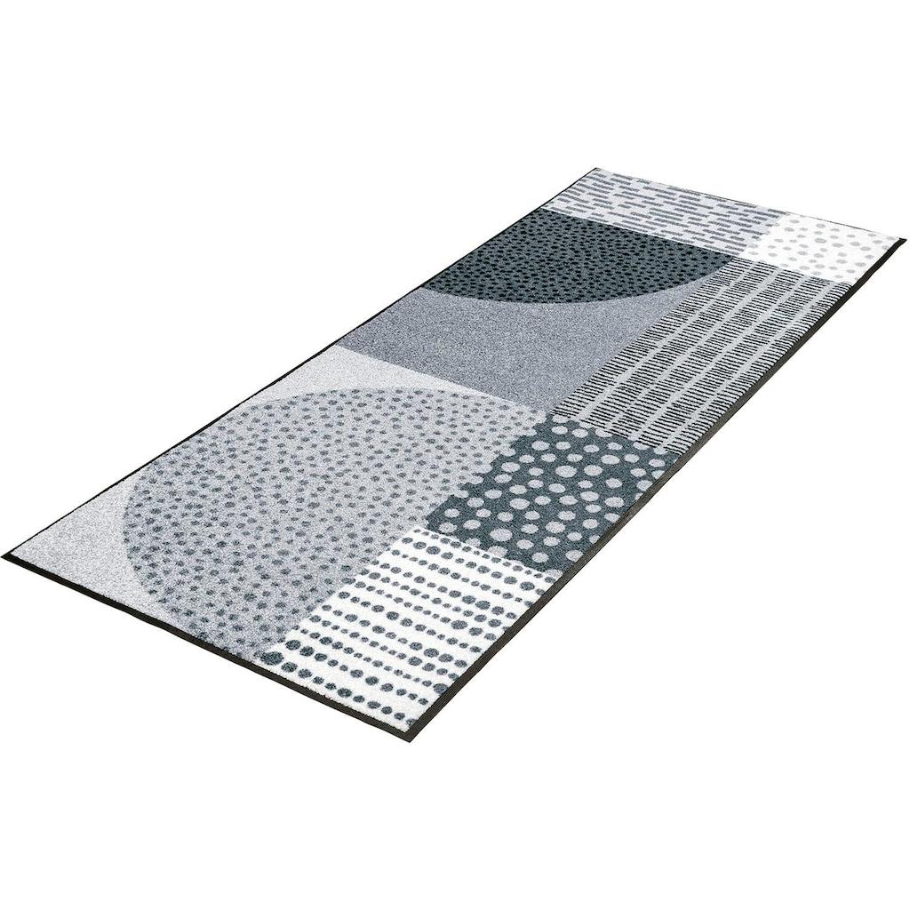 wash+dry by Kleen-Tex Läufer »Montos«, rechteckig, 7 mm Höhe
