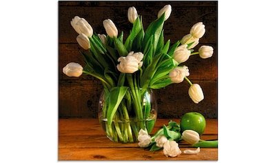 Artland Glasbild »Tulpen in Glasvase« kaufen