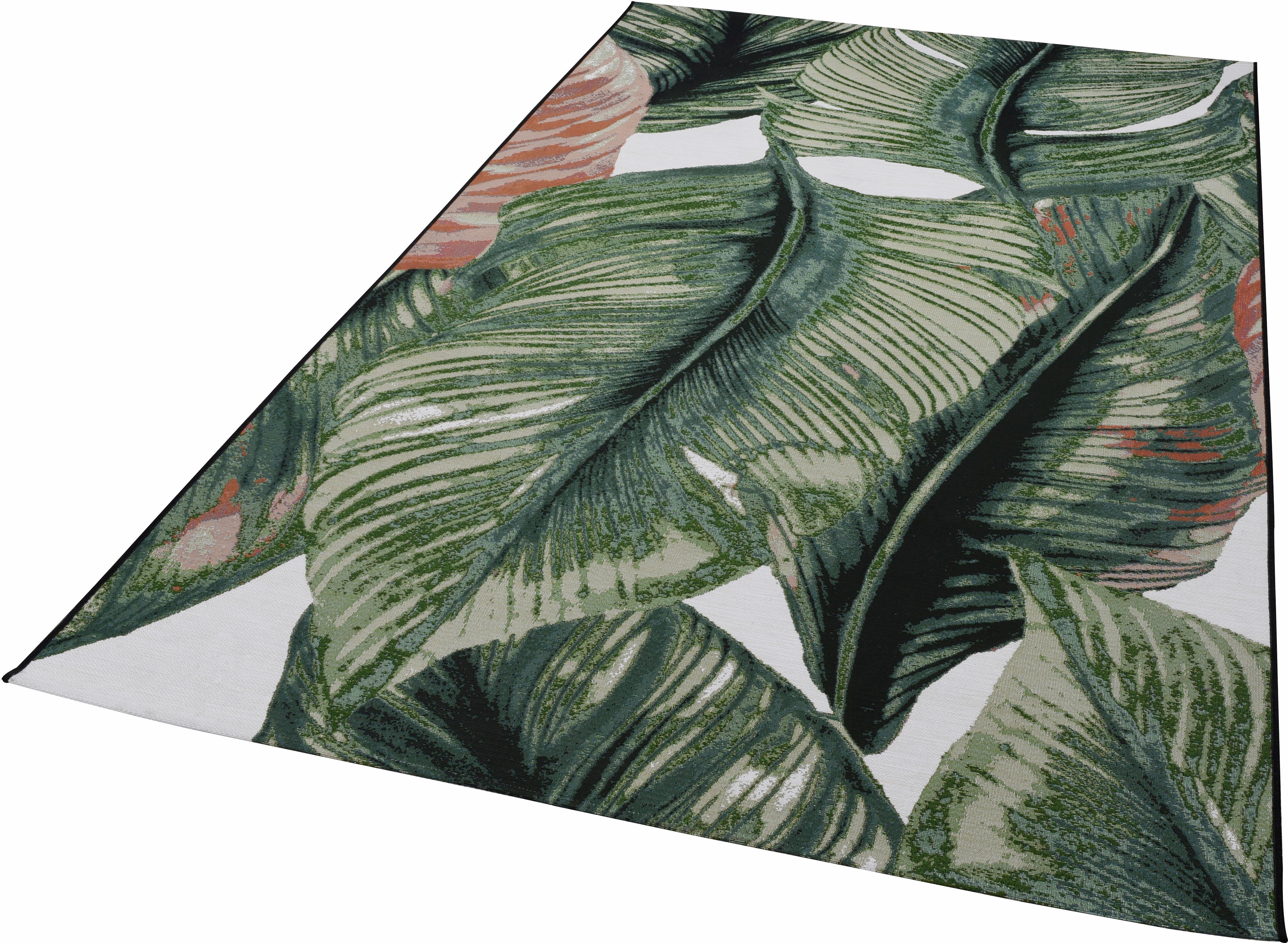 Teppich Garden Leaf TOM TAILOR rechteckig Höhe 30 mm maschinell gewebt