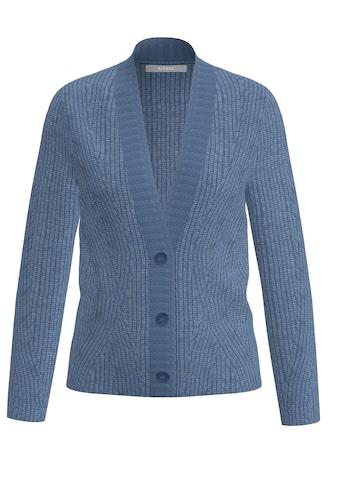 bianca Cardigan »SAMIRIS«, mit Knopfleiste in angesagter Farbe kaufen