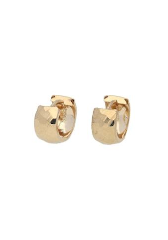 Vivance Paar Creolen »diamantiert« kaufen