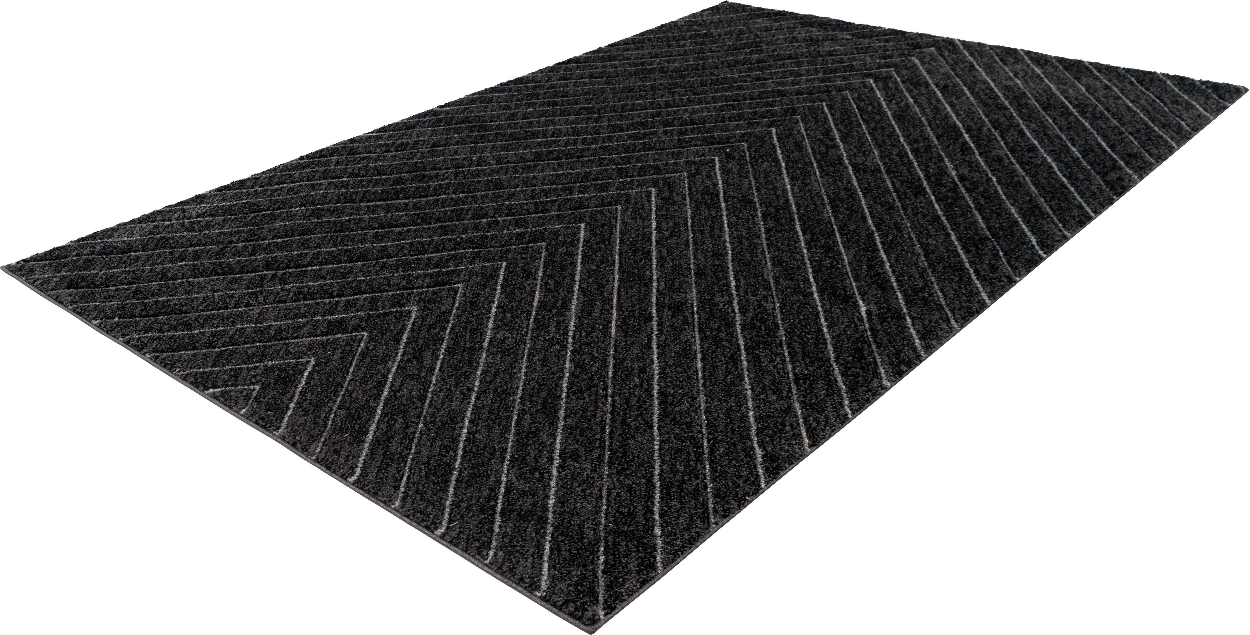 Teppich Astro 302 calo-deluxe rechteckig Höhe 14 mm maschinell gewebt