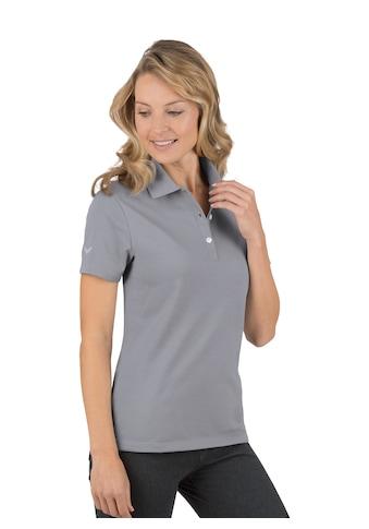 Trigema Poloshirt aus Baumwolle kaufen