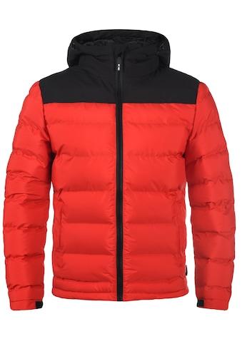 Indicode Steppjacke »Gaius«, warme Jacke mit hochabschließender Kapuze kaufen