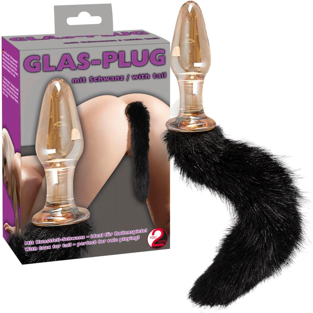 You2Toys Analplug »Glas-Plug mit Schweif«