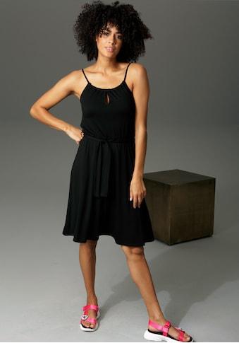 Aniston CASUAL Sommerkleid, mit Spaghetti-Trägern - NEUE KOLLEKTION kaufen