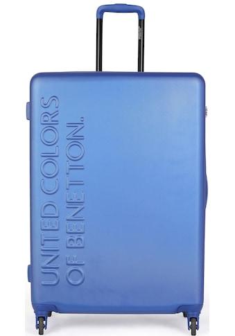 United Colors of Benetton Hartschalen-Trolley »UCB, 64 cm, Royal Blue«, 4 Rollen kaufen
