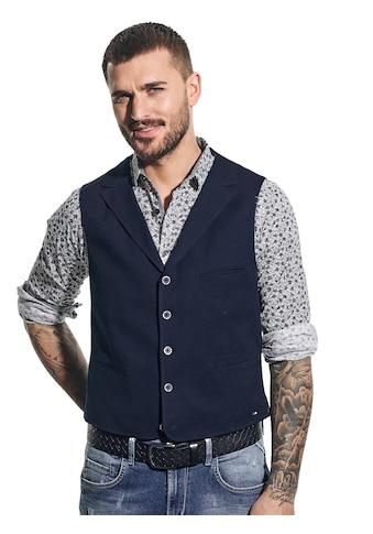 emilio adani Anzugweste, mit dezentem Karo-Muster kaufen