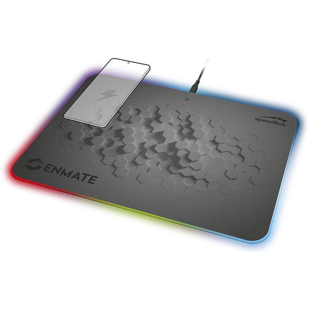 Speedlink Gaming Mauspad »Speedlink ENMATE RGB Charging Mauspad«